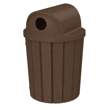 Signature 42 Gallon Receptacle with 2-Way Recycle Lid