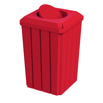 Signature 32 Gallon Receptacle with Bug Barrier Lid and Liner