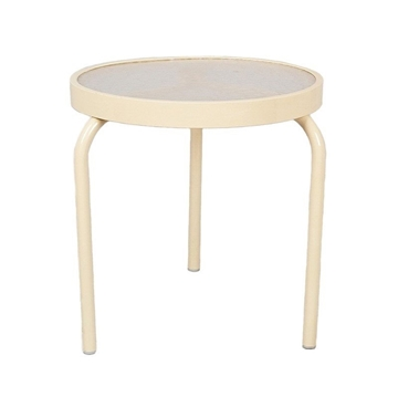 """19"""" Round Acrylic Stackable Side Table"""