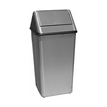 Stainless Steel Trash Can 36 Gallon