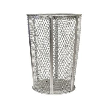 Trash Can Expanded Metal Basket