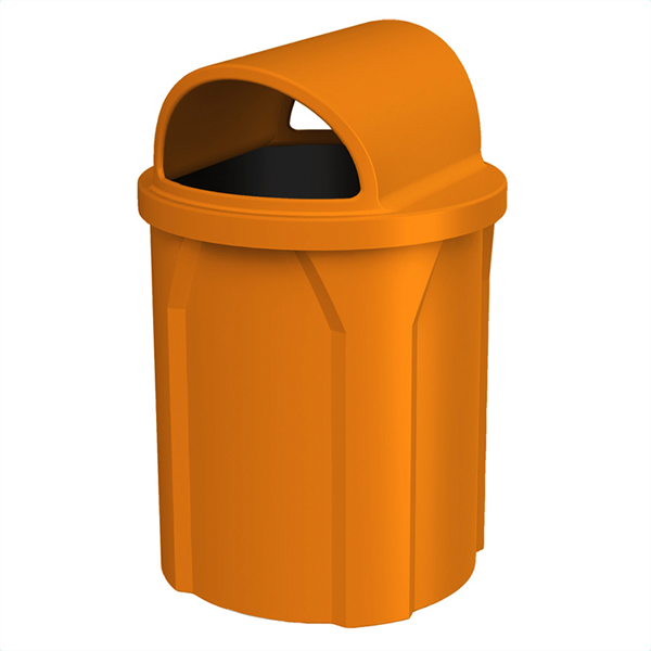 42 Gallon Receptacle with 2-Way Open Lid