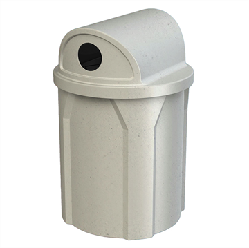 42 Gallon Receptacle with 2 Way Open Lid