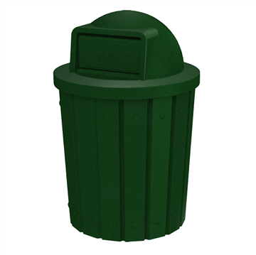 42 Gallon Receptacle with Dome Top