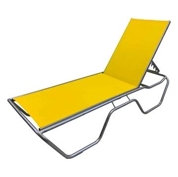 Daytona Commercial Sling Chaise Lounge with Powder-Coated Aluminum Frame